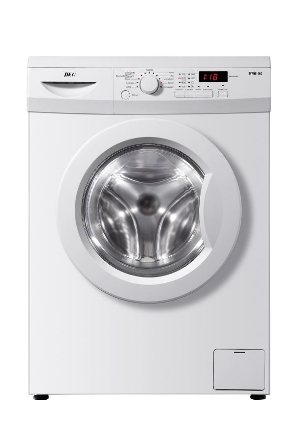 hec haier mwh 1460 waschmaschine 1400 u min a 6. Black Bedroom Furniture Sets. Home Design Ideas